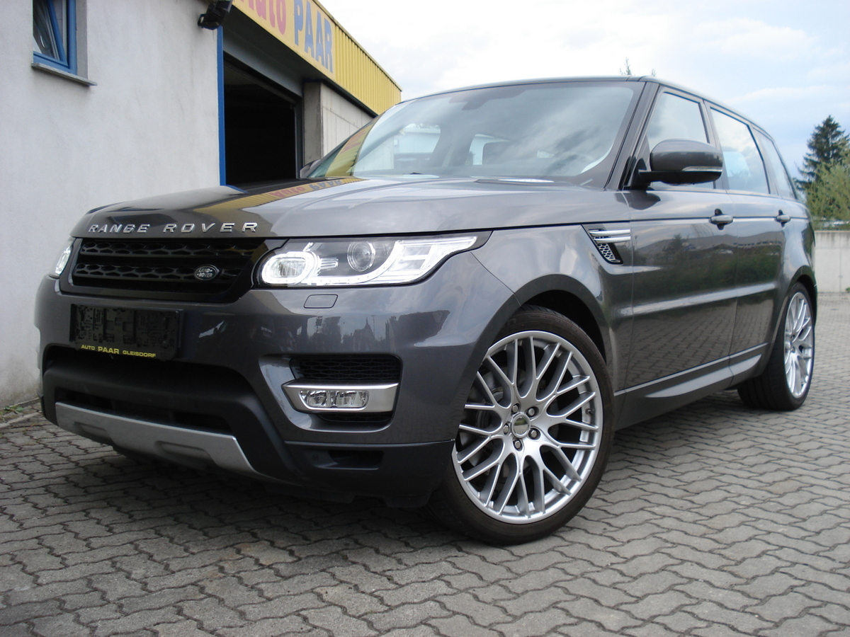 range rover sport 3 0 tdv6 hse vollausstattung auto paar. Black Bedroom Furniture Sets. Home Design Ideas