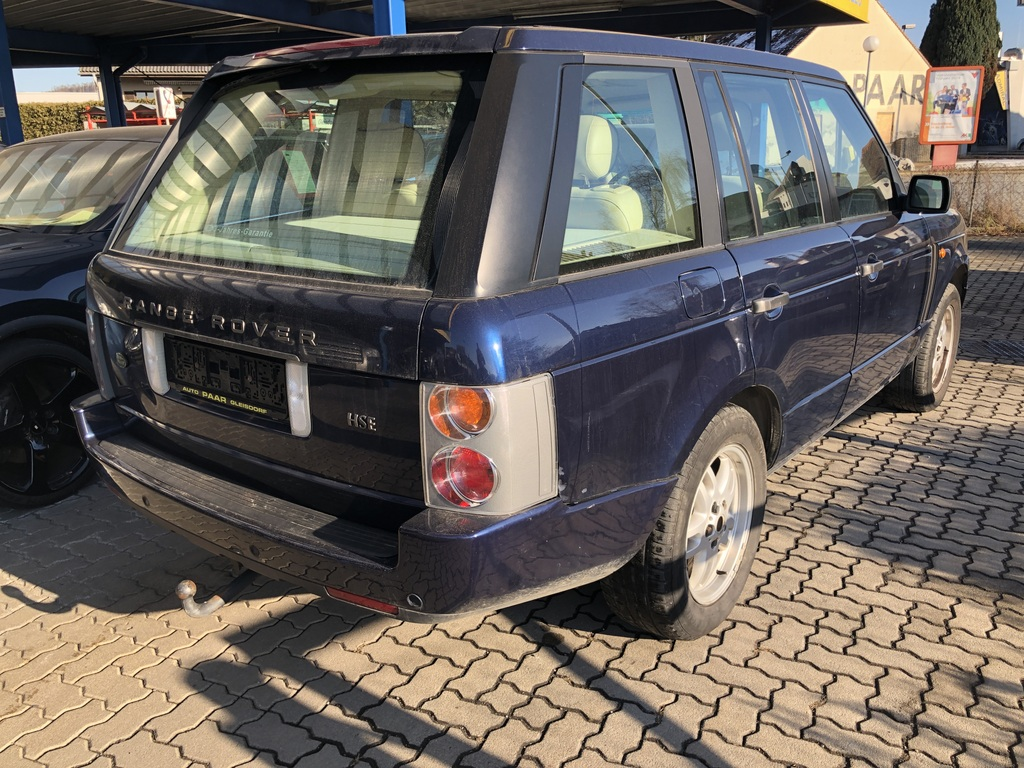 range rover 4 4i v8 hse auto paar. Black Bedroom Furniture Sets. Home Design Ideas